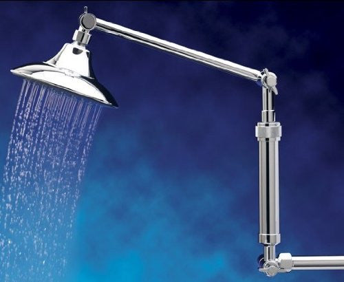 FILTERED SHOWER EXTENSIONS ShowerUp Double (Chrome)