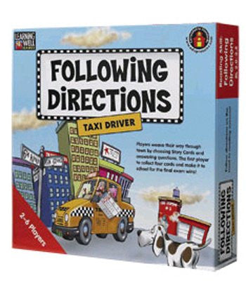 Following Directions -Taxi Driver Game, Red Level