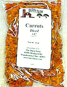 Carrots Diced, Air Dried,2 oz