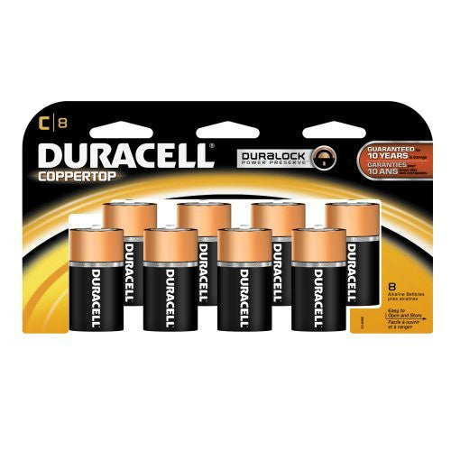 Duracell CopperTop C Alkaline Battery (MN-1400)