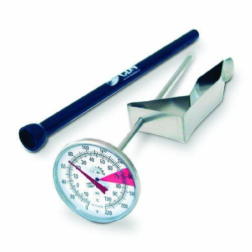 "ProAccurate Insta-Read Beverage & Frothing Thermometer – 7"" Stem"