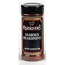 Rendezvous Famous Seasoning (Rub) - 4.5 oz