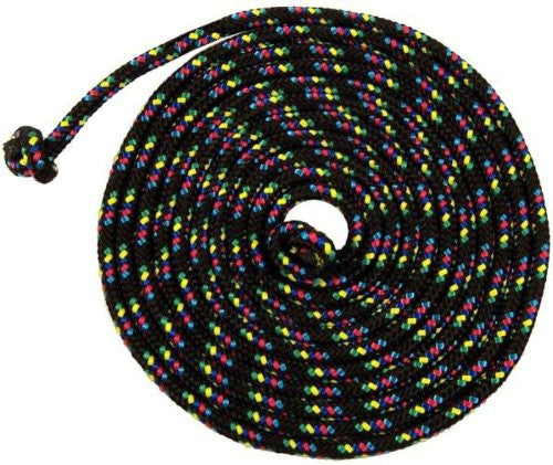 Just Jump It 8' Jump Rope-Confetti Black