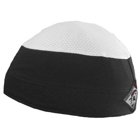 Ventilator Cap With White top, Black