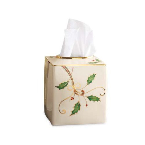 HOLIDAY NOUVEAU TISSUE BOX HOLDER
