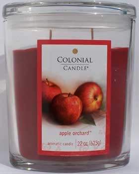 Apple Orchard 22 oz Scented Oval Candle