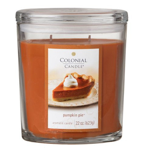 Pumpkin Pie 22 oz Scented Oval Jar Candle