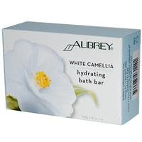 Aubrey Organics, Hydrating Bath Bar, White Camellia, 4 oz (118 g)