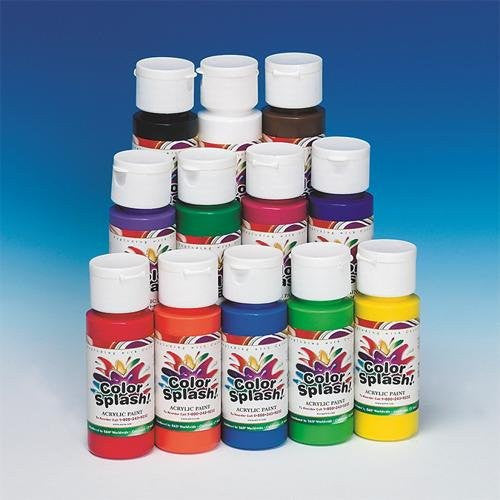 2-oz. Acrylic Paint (Pack of 12)