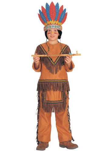 Native American Boy - Large