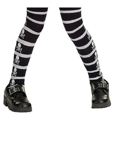 Skull & Crossbones Child Tights - Large