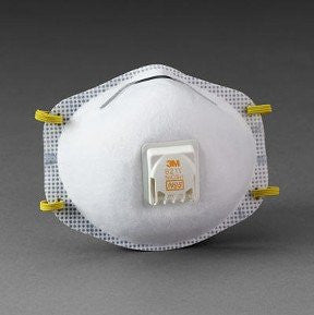 N95 Particulate Respirator with valve  10/box