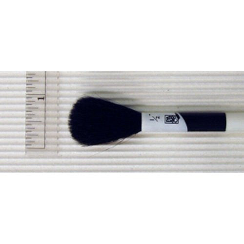 Goat Hair Mop Round Brush 1/2""
