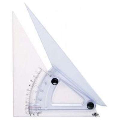 Professional Adjustable Triangle 10in