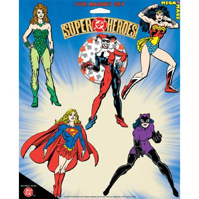 DC COMICS FEMALE CHARACTERS FIVE PACK