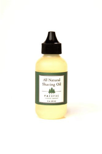 All Natural Shaving Oil (2 oz.)