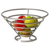 Euro Fruit Bowl - Satin Nickel