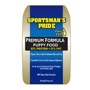 SPORTSMAN S PRIDE PREMIUM PUPPY FOOD (25lbs)