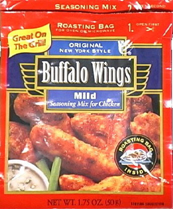 French's Buffalo Wings Seasoning Mild 1.75 OZ