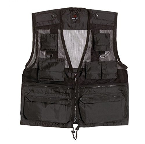 Black Recon Vest - Extra Large