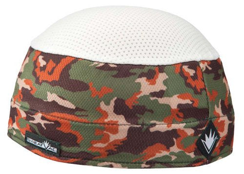 Pattern Ventilator Cap White Top, Camouflage