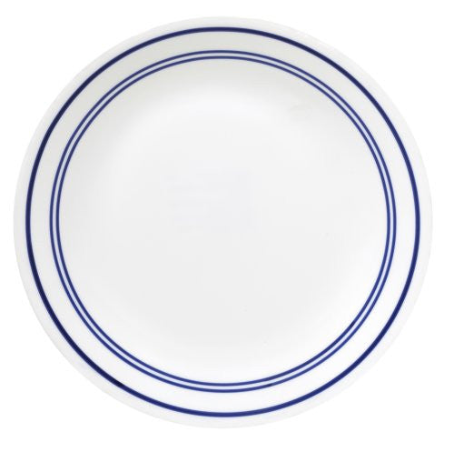 Corelle Livingware 10-1/4-Inch Dinner Plate, Classic Caf? Blue