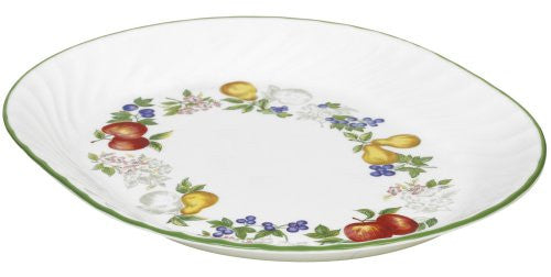 Corelle Impressions 12-1/4-Inch Serving Platter, Chutney
