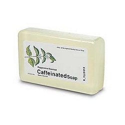 Caffeinated Soap Peppermint Scent 4.5oz