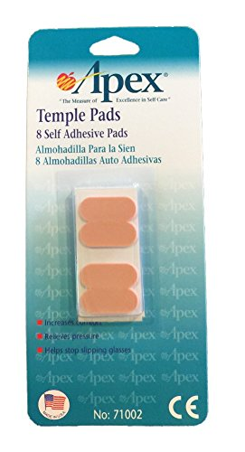 Foam Stick-On Temple Pads - Peach (Not In Pricelist)
