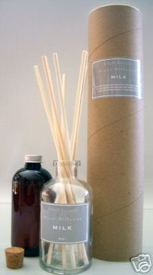 K.Hall Designs Milk (Vanilla, Coconut & Milk) Scented Reed Oil Diffuser