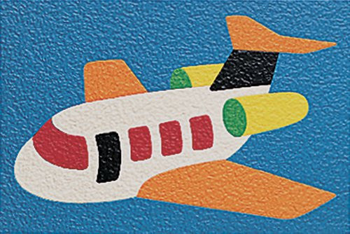 Lauri Crepe Rubber Puzzle - Airplane 14pc