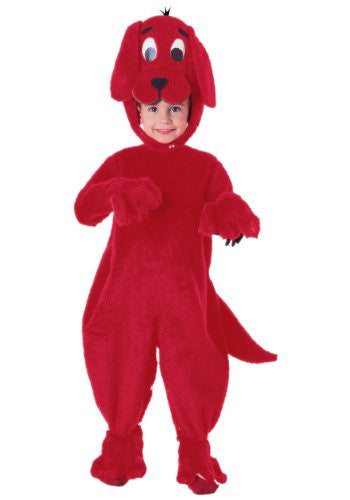 Deluxe Clifford The Big Red Dog - Toddler
