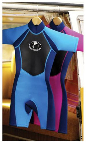 Shorty Wetsuits - 3-4 yrs  XS - Pink