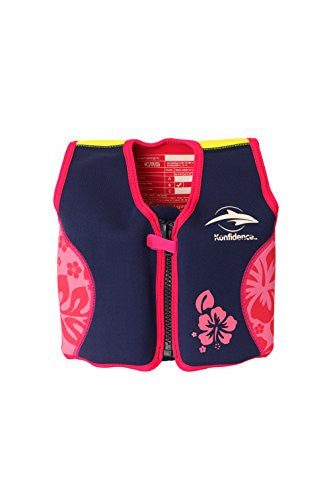 The Original Konfidence Jacket - Small 18 M-3 yrs Pink Hibiscus