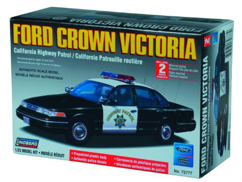 1/25 Ford Crown Vick CA Police