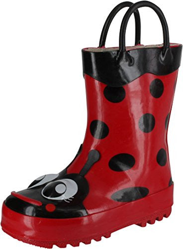 Western Chief Ladybug Red Boots Size: 7 Child