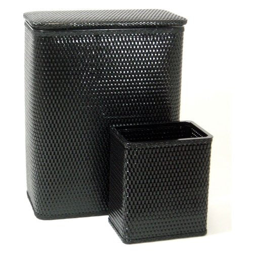 Redmon Chelsea Hamper and Matching Wastebasket Collection