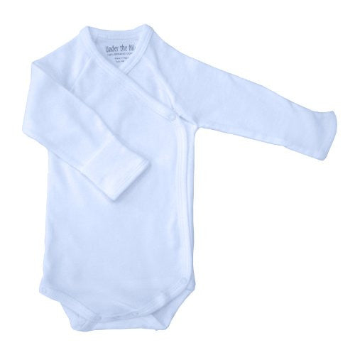 Long Sleeve Babybody Ice Blue nb-3m