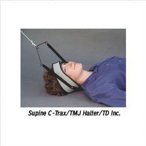 C‐Trax supine traction with TMJ halter