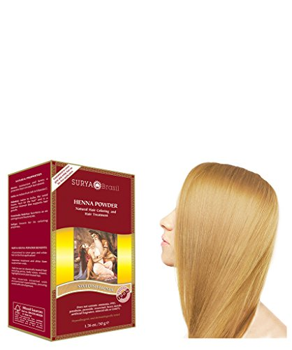 Surya Henna Powder - Swedish Blonde, 50g