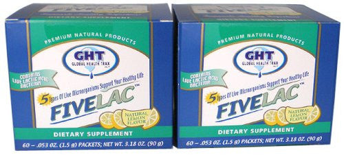FiveLac Probiotic 60 packets (2 Pack)