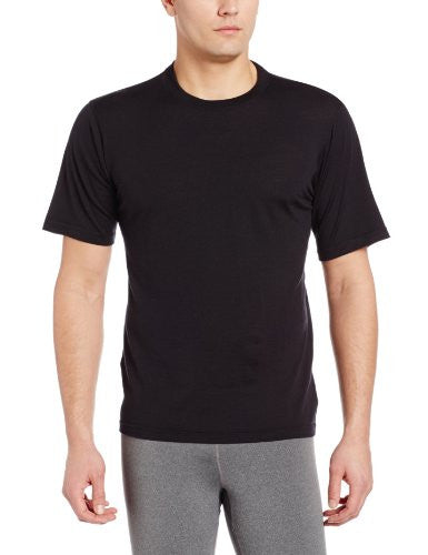 Mens SS Crew Black Extra Large
