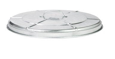 Behrens Manufacturing Galvanized Steel Utility Can Lid Only, 31 Gallon