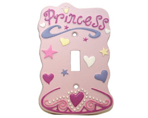 Princess Single Switch plate in a Card