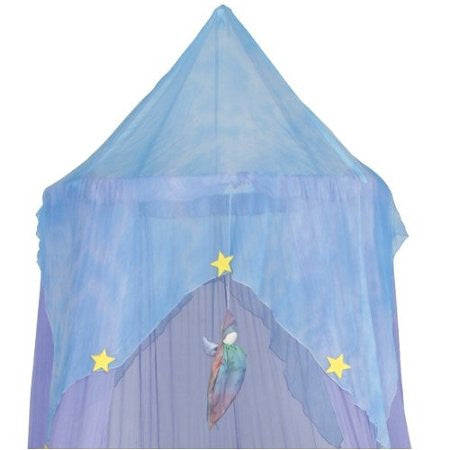 Sarah's Silks Play or Bed Canopy - Lavender Fairy