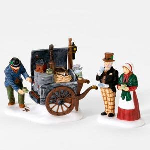 Department 56 The Coffee-Stall, Set of 2