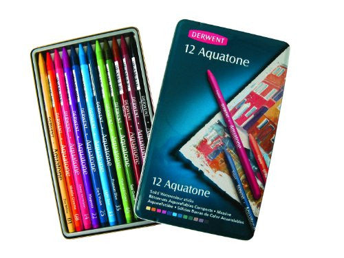 Derwent Aquatone Pencil SET 12