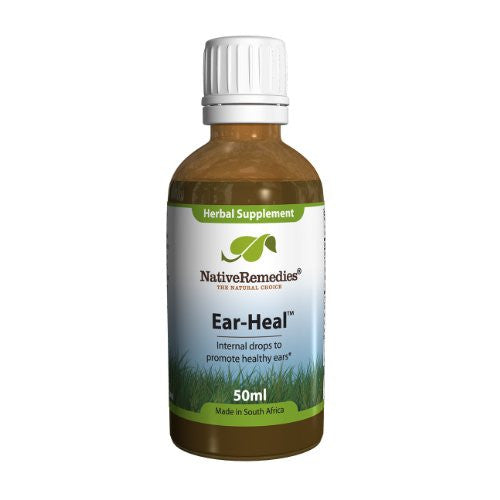 Ear-Heal Drops - Ear Infections, 50ml,(Native Remedies)