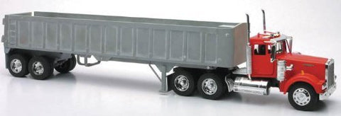 1/32 Kenworth W900 Frameless Dump Truck (Chrome)