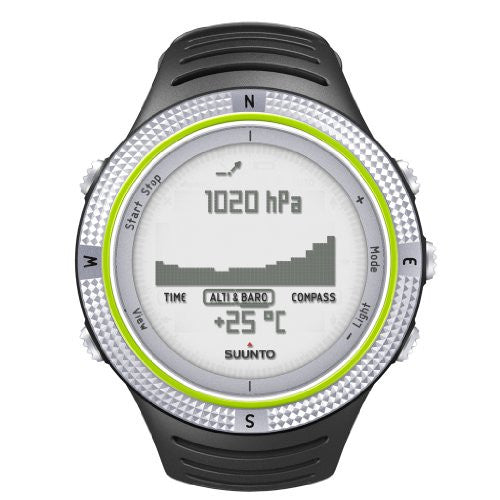 Suunto Core Wrist-Top Computer Watch with Altimeter, Barometer, Compass, and Depth Measurement (Light Green)